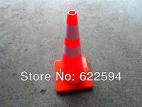 The PVC the road cone 70CM traffic roadblocks ice cream cone reflective cone traffic facilities