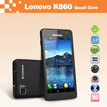 "Lenovo K860 5"" Exynos4412 Quad Core WCDMA 3G Android Cellphone AH IPS Screen 1280x720px Dual Camera 8.0MP"
