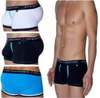Free shipping!Sexy Men's Underwear Cotton underwear  Men's Boxer Shorts Men's Boxers 4 Color C-37