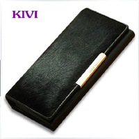 New arrival Wallet Women Genuine Leather Brand 2013 Travelers Wallet Lady Leather Wallet Free Shipping NK -59X 2