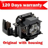 Original Projector Lamp for E  pson ELPLP36 V13H010L36 OEM Bulb inside