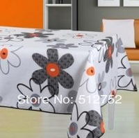 Waterproof Polyester Table Cloth,150cmx 240cm  TC3024--LIOR FLOWER france styles  thinkness beautiful printing table cltoh
