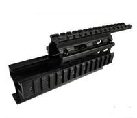 High Quality Aluminum Tactical 7.62x39 Quad Rail Handguard Mount AK 74 AK47 handguard gun mount red dot sight mounts
