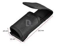New Large Size UltraFire Flashlight Portable Nylon Holster Cover Pouch Velcro Design For LED Light Torch Free shipping