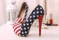 Free shipping 2013 platform wedges buckle sandals princess women's high-heeled platform Pumps shoes