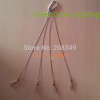 5pc/lot Hanging kit Wire Hook For Plant Light Led Grow Light Led Aquarium Light tank light aquatic lamp could be hung 75LBS34KG