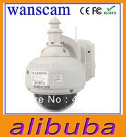wanscam Wireless WiFi PTZ Dome Waterproof Outdoor Security IR CUT NightVision IP Camera webcam