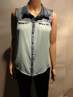 Ladies fashion chiffon shirt