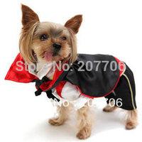 The Vampire Dog Costume Halloween Pet Clothes