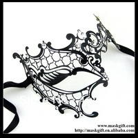 Free Shipping MF002 Luxury Filigree Metal Venetian Masquerade Masks - PHANTOM 48Pcs/lot Accept Assorted Styles