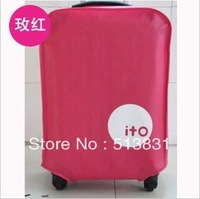 New! thickening luggage cover /  travel trolley luggage suitcase covers for 20 24 28'' 2pcs/lot