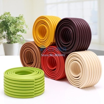 8Pcs/Lot Baby Safety Corner Protector Table Edge Corner Cushion Tape Strip Free Shipping 11386
