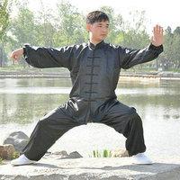 Chinese Kung Fu Tai Chi Uniform Unisex Martial Arts Clothing Wushu Suit Morning Exercise Suit