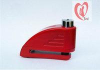 Free shipping high quality 110DB motorcycle alarm lock alarm disc lock 6mm