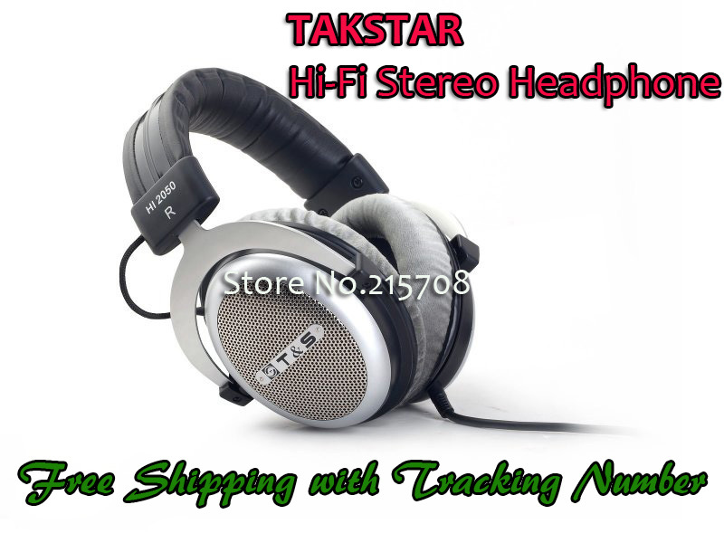 Free Shipping/Original TAKSTAR/Hi-Fi Stereo Headphones/Open Dynamic Music Headset & Earphones/3.5/6.3mm port(China (Mainland))