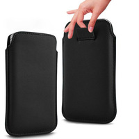 2014 new  13 Color Leather PU Pouch cover Case Bag for samsung wave 525 S5250 S5750E case phone cases