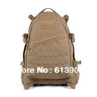 Outdoor Mountaineering Bag Hiking Backpack 3D Assault Backpack Double Shoulder Molle Backpack Travel Bag