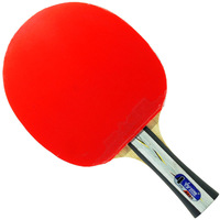 ITTF approved  Sanwei  4  star table tennis racket / Pingpong racket 498   Fast attack OFF+  ,  Free cover