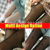 wholesale retail mulit 16 design option sexy black white pants long stockings leggings  pantyhose panty-hose whcn