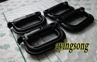 10pcs/lot carrying locking ring small D model black