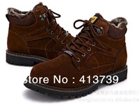 2013 X Autumn and winter style upset villi During the winter  To keep warm A man Cotton shoes p145