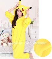 Pokemon pikachu outfit pajamas cosplay costume Pyjamas onesie adult romper