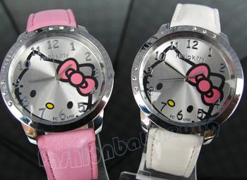 Hot sale !!! NEW Hello Kitty Watch Wrist watch Quartz Watch Promotional Item Fashion Watch