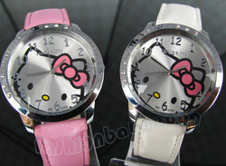 Hot sale !!! NEW Hello Kitty Watch Wrist watch Quartz Watch Promotional Item Fashion Watch(China (Mainland))