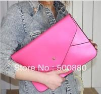 Free shipping 2013 Hot-selling Women's big envelope bag vintage day clutch messenger bag file bag