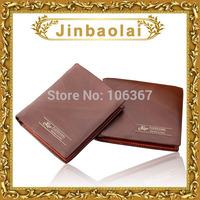 swiss men's leather bifold wallet money bag with 6 card slots 2 billfold purse