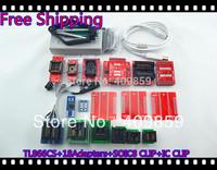 Free Shipping NEW SOIC8CLIP Hot Sale V6.0 TL866CS Minipro  PIC USB BIOS Universal Programmer+20items TSSOP8+13143 chip