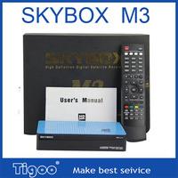 Original Skybox M3 1080pi Full HD satellite receiver high definition support USB wifi CCcam Newcam top quality