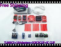 Free Shipping Russian files SOIC8 CLIP Hot Sale V6.0 TL866CS MInipro  PIC USB BIOS Universal Programmer+18Items+13143 chip