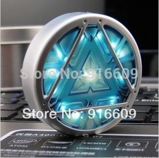 G-33 Free Shipping Metal Avengers Energy blocks Necklace 4GB 8GB 16GB 32GB USB 2.0 Flash Drive Memory stick Thumb/Pen/Car