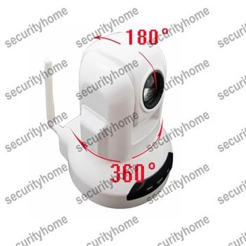 Mini Indoor Sony CCD 10X High Audio Wifi PTZ Speed Dome IP Camera wireless Alarm System