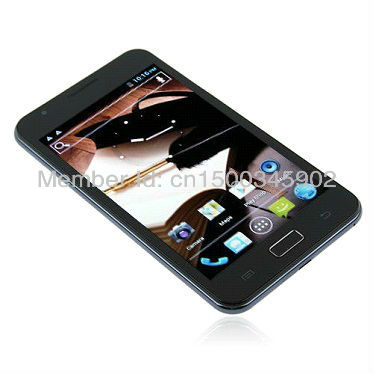 Hot sale Star N9770  MTK6577 dual core,Android 4.1,512M RAM 4GB ROM 5.0 inch WVGA,,Dual SIM,GPS,WIFI,Singapore free shipping