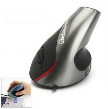 Latest human body engineering alleviate wrist fatigue vertical mouse for computer  F-S023