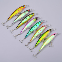 8pc Top Quality 8 colors fishing tackle 11CM/13.4G Minnow Lures,Crank Lures fishing lures fishing bait free shipping