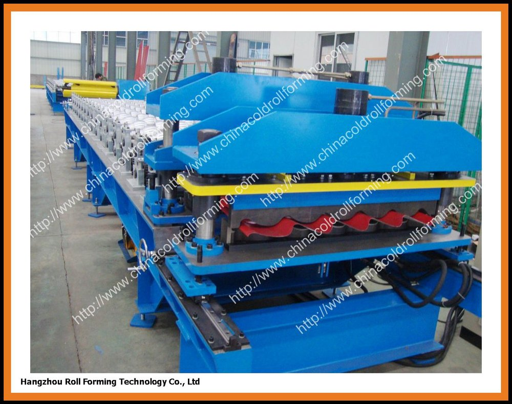 Roll Forming Machine Manufacture for steel roof tile metal panel profile(China (Mainland))