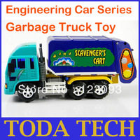 Engineering Car Series Garbage Truck B03-4 Clean Car Child Toy Car Harmless No Toxicity No Odor Discount Price Free Shipping