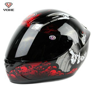 Hot sale 1 pcs/lot ECE YOHE 991-3-9# Spain Phoenix off-road racing motorcycle helmet/ full face Run Helmets/motorcross scooter