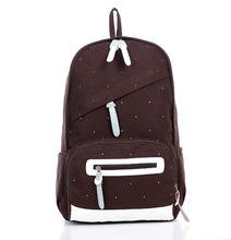 designer brief fashionable casual canvas school backpacks for girls backpack cute women cheap backpacks pretty bags female sales(China (Mainland))