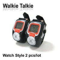 Wrist watch walkie talkie,two way radio,1 km,22 channels with VOX,channel scan 2 pcs/set wt11