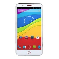 Goophone i9 - 5.7 Inch HD Screen MT6589 Quad-core 8MP Camera Android Phone-WHITE