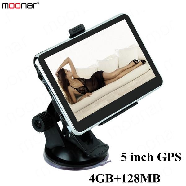 5 inch GPS Car Navigation MTK 4GB Capacity UK EU AU NZ Maps Speedcam POI with Sunshade DA0550(China (Mainland))