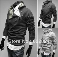 free shipping Hot Sale,South Korean Men's  Jacket Hoodies,knitted  Fashion coat Men's Sweater,4 Color,Asia:M-XXXL  zhilin0007