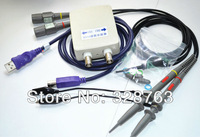 MDSO PC USB oscilloscope kit Virtual oscilloscope analog oscilloscope Bandwidth 20M Sampling rate 48M With dual probe