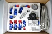 Aeromotive fuel pressure regulator universal fpr with gauge adjustable Injection Bypass Type-S - Speed Way