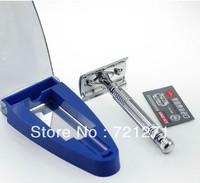 Free Shipping Exquisite A2003 Men's Double Edge Shaving Safety Razor White Metal