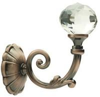 High-end European antique curtain hook, wall hook,crystal hook,decorative hook